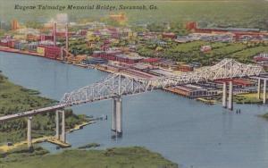 Eugene Talmadge Memorial Bridge Savannah Georgia
