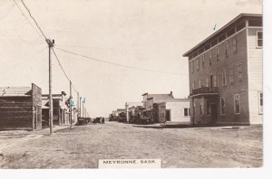 RP: MEYRONNE , Saskatchewan , Canada , 00-10s , Main Street