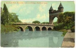 Bushnell Park, Memorial Arch & Bridge, Hartford, Connecticut, 00-10s