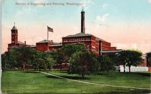 Bureau of Engraving and Printing Washington DC c1911 Postcard F8