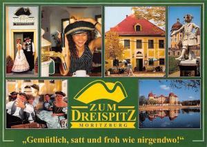 Zum Dreispitz Moritzburg, Gemuetlich, satt und froh wie Nirgendwo! Schloss