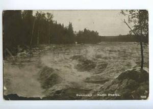 236661 FINLAND IMATRA Vintage Tsenter photo postcard