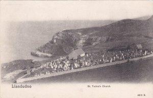 LLANDUDNO, Wales, United Kingdom; St. Tudno's Church, 00-10s