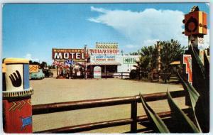 BOWIE, Arizona  AZ    Roadside HOME ON THE RANGE MOTEL  1964   Postcard
