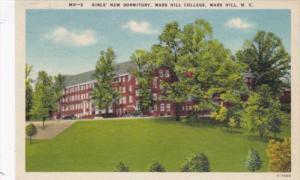 North Carolina Mars Hill Girls' New Dormitory Mars Hill College