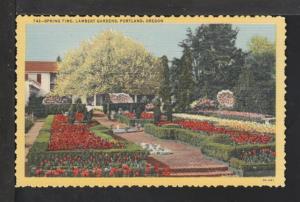 Spring Time,Lambert Gardens,Portland,OR Postcard