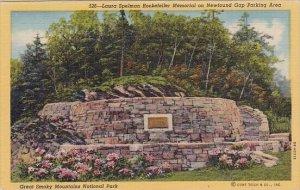 Laura Spelman Rockelefeller Memorial On Newfound Gap Parking Area Great Smoky...