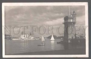 105430 GERMANY LIGHTHOUSE Kiel Am Signalturm Vintage photo PC