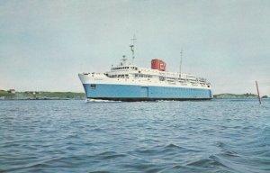 BAR HARBOR, Maine, 1950-60s; M.V. Bluenose Ferry, version 3