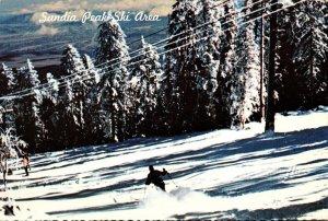 New Mexico Albuqurque Sandia Peak Ski Area