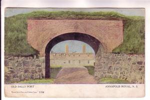 Old Sally Port, Annapolis Royal, Nova Scotia Warwick