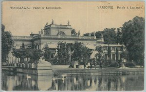 79903  - Polen POLAND - Ansichtskarten  VINTAGE POSTCARD - WARSAW  1912