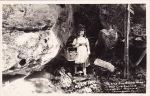 Little Red Riding Hood Rock city Gardens Lookout Mountain Chattanooga Tenness...