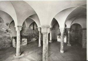 Czech Republic Postcard - Praha Romanska - Basilika of St George, Crypt - TZ5381