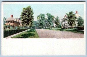 1904 CHEVY CHASE WASHINGTON DC MARYLAND*HOUSES*STREET SCENE*UNUSED POSTCARD