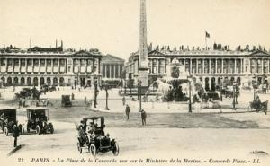 France - Paris, La Place de la Concorde