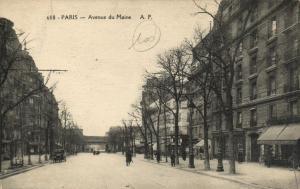 CPA Paris 14e (Dep.75) - Avenue du Maine (56462)