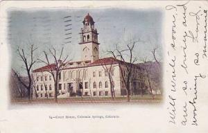Court House, Colorado Springs, Colorado, PU-1908