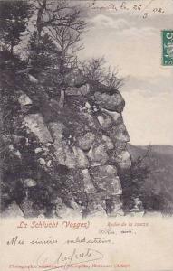 Roche De La Source, La Schlucht, Vosges, France, PU-1908