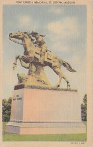 Missouri St Joseph Pony Express Memorial