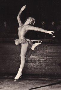 RP: Figure Skater JANA MRAZKOVA(CSSR) Autographed, 1960s