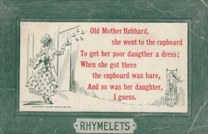 COMIC; PU-1914; Old Mother Hubbard Rhyme