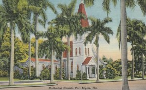 FORT MYERS, Florida, 30-40s; Methodist Church
