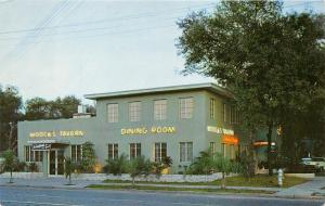 St Petersburg Florida~Moock's Tavern @ 16th Street North~Neon Signs~Palms~1950s