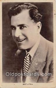 Bert Lytell Movie Actor / Actress, Entertainment Postcard Post Card Actor Act...