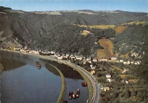 Brodenbach Mosel Schiff Boats River Bateaux Panorama