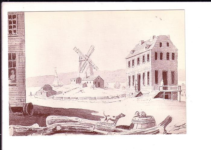 Lowden's Wind Powered Sawmill Grist Mill, Pictou, Nova Scotia Museum, Halifax,