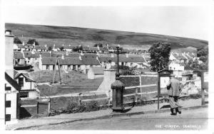 Leadhills Scotland Curfew Overlook Real Photo Antique Postcard K45454
