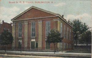 BURLINGTON , New Jersey , 1900-10s ; Broad St. M.E. Church