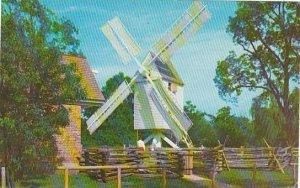 Robertson's Windmill Williamsburg Virginia 1965