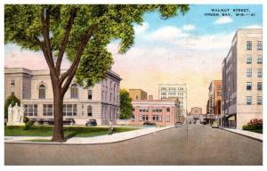 Wisconsin  Green bay , Walnut Street