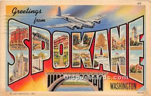 Spokane, Washington, WA, USA 1943