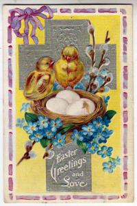 Easter - Chicks and Cross