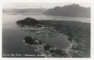 RP: WRANGELL , Alaska , 1940s ; Air View