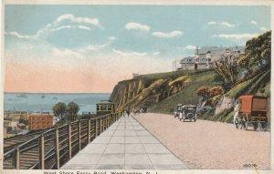 WEEHAWKEN , New Jersey, 1900-10s ; West Shore Ferry Road