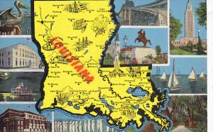 Map Of Louisiana