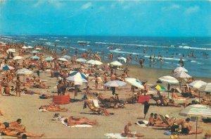 Postcard Romania Black Sea Mamaia seaside beach view