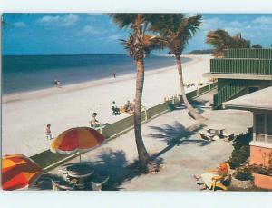Unused Pre-1980 BEACH SCENE St. Petersburg Beach Florida FL G5649