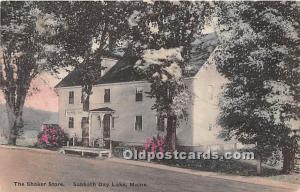 Old Vintage Shaker Post Card The  Store Sabbathday Lake, Maine, ME, USA Unused