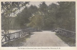 CHOCORUA , New Hampshire , 00-10s ; Bridge at Chocorua Lake