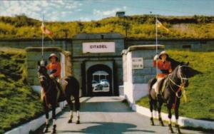 Canada Halifax Entrance To Citadel With Bengal Lancers