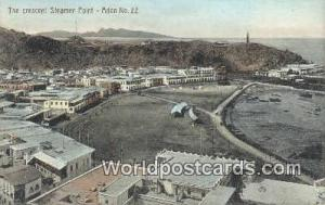 Aden Republic of Yemen Crescent Steamer Point Aden Crescent Steamer Point