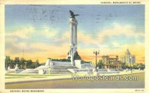 Cuba, Republica de Cuba Habana Monuemnto al Maine, Maine Monument