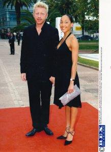 Boris Becker Laurelus Sports Awardsin Estoril Portugal 2004 Tennis Press Photo