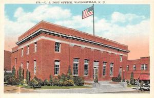 B60/ Waynesville North Carolina NC Postcard c1910 U.S. Post Office Building