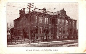 Ohio Cleveland The Clark School 1908
